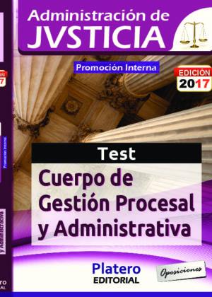 Gestión Procesal y Administrativa Promoción Interna Test