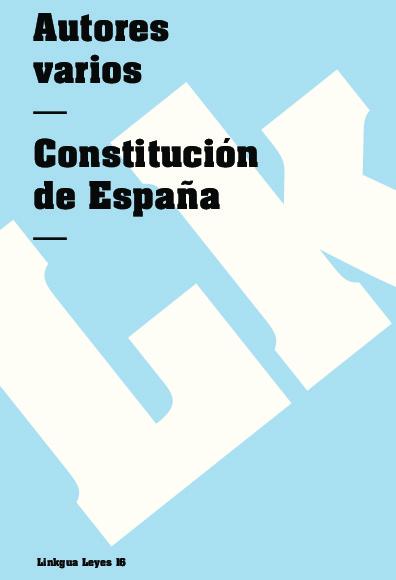 Constitución de España