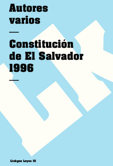 Constitución de El Salvador 1996
