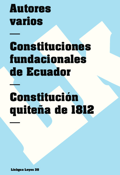 Constitución quiteña de 1812