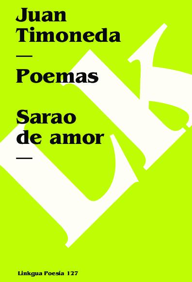 Poemas. Sarao de amor