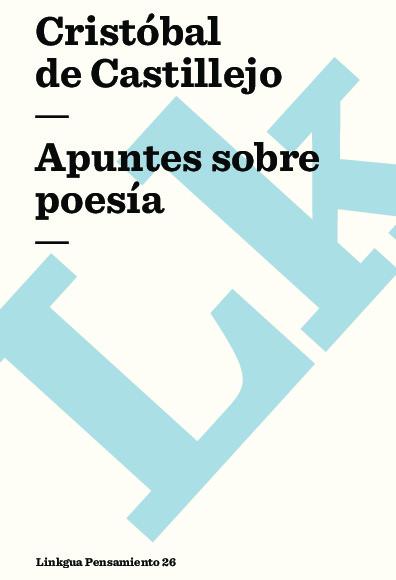 Apuntes sobre poesía