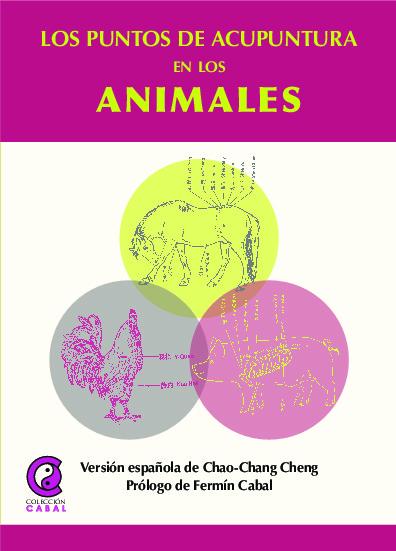 Los puntos de acupuntura en animales