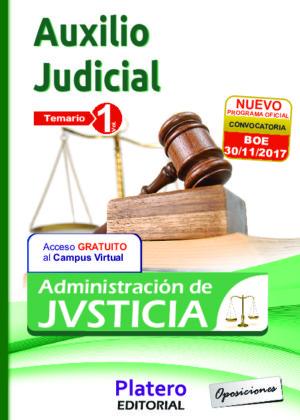 Auxilio Judicial Temario volumen I