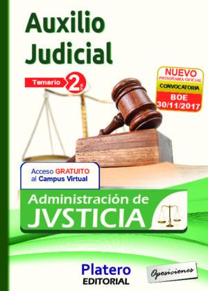 Auxilio Judicial Temario volumen II