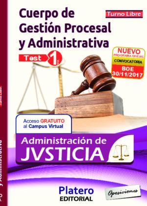 Gestión Procesal y Administrativa Test volumen 1