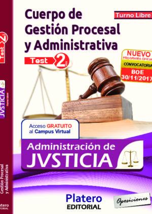 Gestión Procesal y Administrativa Test volumen 2