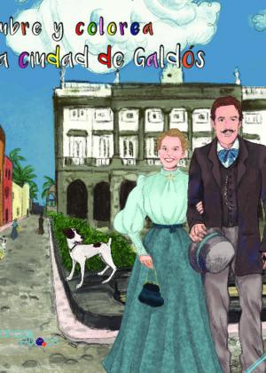 Descubre y colorea la ciudad de Galdós