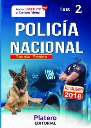 Policía Nacional Escala Básica Test vol. 2
