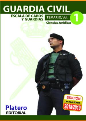 Guardia Civil Escala de Cabos y Guardias Temario Vol. 1