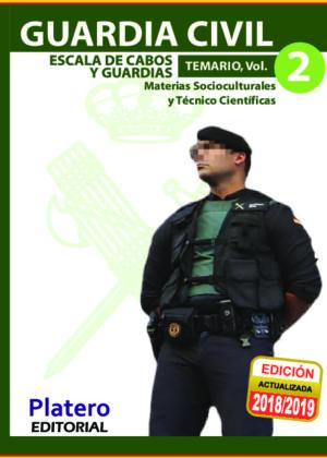 Guardia Civil Escala de Cabos y Guardias Temario Volumen 2