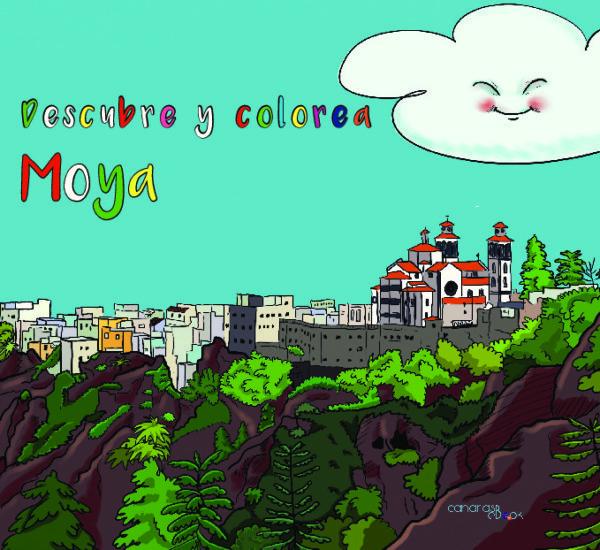 Descubre y colorea Moya
