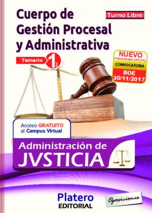 Gestión Procesal y Administrativa Temario volumen 1