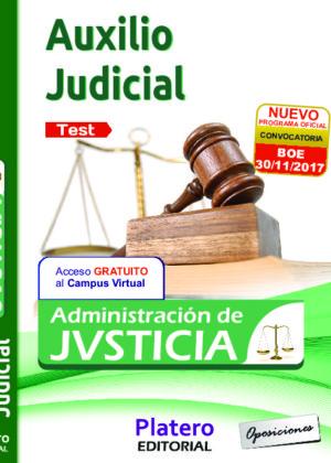 Auxilio Judicial Test 2017