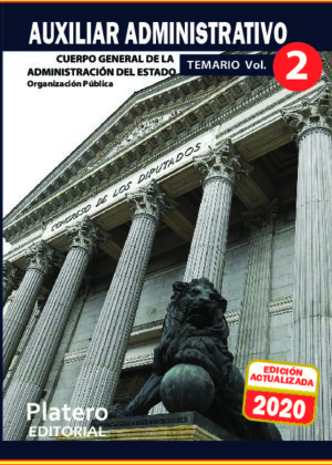Auxiliar Administrativo del Estado Temario Volumen 2