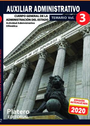 Auxiliar Administrativo del Estado Temario Volumen 3