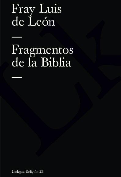 Fragmentos de la Biblia
