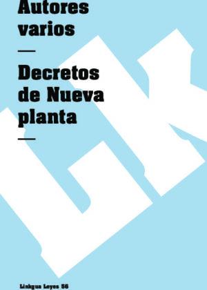 Decretos de Nueva Planta