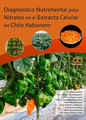 Diagnóstico nutrimental para nitratos en el extracto celular en chile habanero