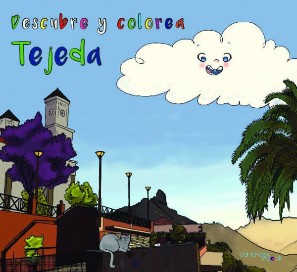 Descubre y colorea Tejeda