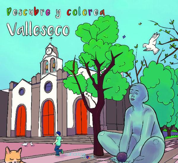 Descubre y colorea Valleseco